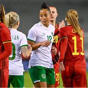 11 April 2021; Rianna Jarrett of Republic of Ireland after the women's international friendly match between Belgium and Republic of Ireland at King Baudouin Stadium in Brussels, Belgium. Photo by David Catry/Sportsfile