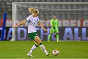 11 April 2021; Diane Caldwell of Republic of Ireland during the women's international friendly match between Belgium and Republic of Ireland at King Baudouin Stadium in Brussels, Belgium. Photo by David Catry/Sportsfile