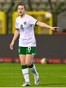 11 April 2021; Emily Whelan of Republic of Ireland during the women's international friendly match between Belgium and Republic of Ireland at King Baudouin Stadium in Brussels, Belgium. Photo by David Catry/Sportsfile