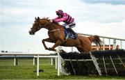 13 April 2021; Now Where Or When, with JJ Slevin up, in action at Fairyhouse Racecourse in Ratoath, Meath. Photo by David Fitzgerald/Sportsfile