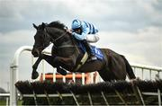 13 April 2021; Do What You Must, with Alan King up, in action at Fairyhouse Racecourse in Ratoath, Meath. Photo by David Fitzgerald/Sportsfile
