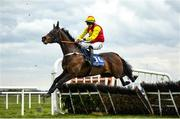 13 April 2021; Queen Emily, with Trevor Ryan up, in action at Fairyhouse Racecourse in Ratoath, Meath. Photo by David Fitzgerald/Sportsfile