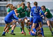 17 April 2021; Eimear Considine of Ireland is tackled by Gaelle Hermet of France during the Women's Six Nations Rugby Championship match between Ireland and France at Energia Park in Dublin. Photo by Sam Barnes/Sportsfile