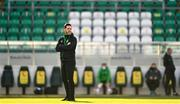 17 April 2021; Shamrock Rovers manager Stephen Bradley before the SSE Airtricity League Premier Division match between Shamrock Rovers and Longford Town at Tallaght Stadium in Dublin. Photo by Eóin Noonan/Sportsfile