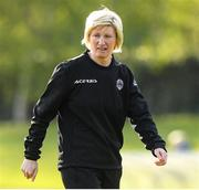 17 April 2021; Galway Women assistant manager Maz Sweeney during the SSE Airtricity Women's National League match between DLR Waves and Galway Women at UCD Bowl in Belfield, Dublin. Photo by Matt Browne/Sportsfile