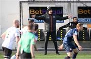 17 April 2021; Dundalk coach Filippo Giovagnoli in the technical area during the SSE Airtricity League Premier Division match between Dundalk and St Patrick's Athletic at Oriel Park in Dundalk, Louth. Photo by Stephen McCarthy/Sportsfile