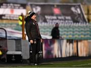 17 April 2021; Dundalk coach Filippo Giovagnoli in the technical area during the SSE Airtricity League Premier Division match between Dundalk and St Patrick's Athletic at Oriel Park in Dundalk, Louth. Photo by Ben McShane/Sportsfile