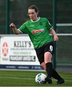 17 April 2021; Lucy McCartan of Peamount United during the SSE Airtricity Women's National League match between Peamount United and Shelbourne at PLR Park in Greenogue, Dublin. Photo by Ramsey Cardy/Sportsfile