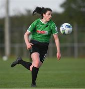 17 April 2021; Della Doherty of Peamount United during the SSE Airtricity Women's National League match between Peamount United and Shelbourne at PLR Park in Greenogue, Dublin. Photo by Ramsey Cardy/Sportsfile