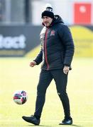 17 April 2021; Dundalk coach Filippo Giovagnoli before the SSE Airtricity League Premier Division match between Dundalk and St Patrick's Athletic at Oriel Park in Dundalk, Louth. Photo by Stephen McCarthy/Sportsfile