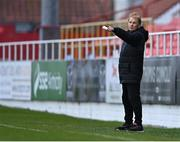 17 April 2021; Sligo Rovers manager Liam Buckley during the SSE Airtricity League Premier Division match between Sligo Rovers and Finn Harps at The Showgrounds in Sligo. Photo by Piaras Ó Mídheach/Sportsfile