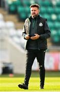 17 April 2021; Shamrock Rovers sporting director Stephen McPhail before the SSE Airtricity League Premier Division match between Shamrock Rovers and Longford Town at Tallaght Stadium in Dublin. Photo by Eóin Noonan/Sportsfile