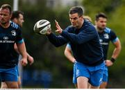 19 April 2021; Jonathan Sexton during Leinster rugby squad training at UCD in Dublin. Photo by Brendan Moran/Sportsfile