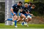 19 April 2021; Cian Healy during Leinster rugby squad training at UCD in Dublin. Photo by Brendan Moran/Sportsfile