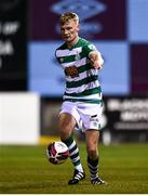 20 April 2021; Liam Scales of Shamrock Rovers during the SSE Airtricity League Premier Division match between Drogheda United and Shamrock Rovers at United Park in Drogheda, Louth. Photo by Ben McShane/Sportsfile