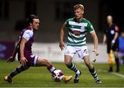 20 April 2021; Liam Scales of Shamrock Rovers and James Brown of Drogheda United during the SSE Airtricity League Premier Division match between Drogheda United and Shamrock Rovers at United Park in Drogheda, Louth. Photo by Ben McShane/Sportsfile