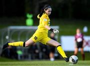 17 April 2021; Eve Badana DLR Waves during the SSE Airtricity Women's National League match between DLR Waves and Galway Women at UCD Bowl in Belfield, Dublin. Photo by Matt Browne/Sportsfile