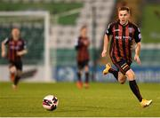 23 April 2021; Liam Burt of Bohemians during the SSE Airtricity League Premier Division match between Shamrock Rovers and Bohemians at Tallaght Stadium in Dublin. Photo by Eóin Noonan/Sportsfile