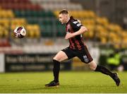 23 April 2021; Ross Tierney of Bohemians during the SSE Airtricity League Premier Division match between Shamrock Rovers and Bohemians at Tallaght Stadium in Dublin. Photo by Eóin Noonan/Sportsfile