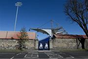 24 April 2021; A general view of the RDS from outside the ground before the Guinness PRO14 Rainbow Cup match between Leinster and Munster at RDS Arena in Dublin. Photo by Piaras Ó Mídheach/Sportsfile
