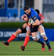 24 April 2021; Josh Murphy of Leinster is tackled by CJ Stander of Munster during the Guinness PRO14 Rainbow Cup match between Leinster and Munster at the RDS Arena in Dublin. Photo by Sam Barnes/Sportsfile