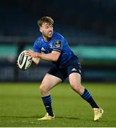 24 April 2021; David Hawkshaw of Leinster during the Guinness PRO14 Rainbow Cup match between Leinster and Munster at the RDS Arena in Dublin. Photo by Stephen McCarthy/Sportsfile