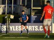 24 April 2021; Harry Byrne of Leinster leaves the pitch to receive medical attention for an injury during the Guinness PRO14 Rainbow Cup match between Leinster and Munster at RDS Arena in Dublin. Photo by Piaras Ó Mídheach/Sportsfile