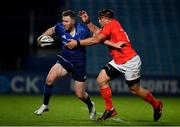 24 April 2021; Rory O'Loughlin of Leinster is tackled by CJ Stander of Munster during the Guinness PRO14 Rainbow Cup match between Leinster and Munster at the RDS Arena in Dublin. Photo by Sam Barnes/Sportsfile