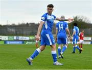 23 April 2021; Mark Russell of Finn Harps during the SSE Airtricity League Premier Division match between Finn Harps and St Patrick's Athletic at Finn Park in Ballybofey, Donegal. Photo by Piaras Ó Mídheach/Sportsfile