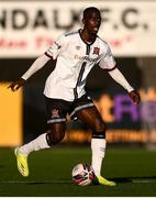 24 April 2021; Wilfred Zahibo of Dundalk during the SSE Airtricity League Premier Division match between Dundalk and Drogheda United at Oriel Park in Dundalk, Louth. Photo by Ben McShane/Sportsfile