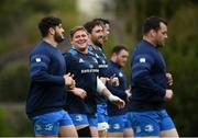 27 April 2021; Tadhg Furlong during Leinster rugby squad training at UCD in Dublin. Photo by Stephen McCarthy/Sportsfile