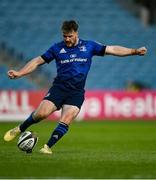 24 April 2021; David Hawkshaw of Leinster during the Guinness PRO14 Rainbow Cup match between Leinster and Munster at RDS Arena in Dublin. Photo by Piaras Ó Mídheach/Sportsfile