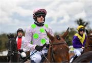 27 April 2021; Paul Townend on Chacun Pour Soi prior to the William Hill Champion Steeplechase during day one of the Punchestown Festival at Punchestown Racecourse in Kildare. Photo by David Fitzgerald/Sportsfile