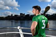 29 April 2021; Different Backgrounds; One Association - Dan Morrissey of Limerick at King John's Castle in Limerick as part of the GPA's Return to Play event to mark the first season where all senior inter-county players are part of the one player association. Photo by Brendan Moran/Sportsfile
