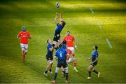 24 April 2021; Ross Molony of Leinster during the Guinness PRO14 Rainbow Cup match between Leinster and Munster at the RDS Arena in Dublin. Photo by Stephen McCarthy/Sportsfile