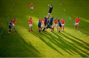 24 April 2021; Ross Molony of Leinster takes possession in a line-out during the Guinness PRO14 Rainbow Cup match between Leinster and Munster at the RDS Arena in Dublin. Photo by Stephen McCarthy/Sportsfile