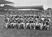 3 September 1961; The Tipperary squad prior to the GAA Hurling All-Ireland Senior Championship Final match between Dublin and Tipperary at Croke Park in Dublin. Photo by Connolly Collection/Sportsfile