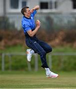 1 May 2021; David O'Halloran of Leinster Lightning during the Inter-Provincial Cup 2021 match between Leinster Lightning and North West Warriors at Pembroke Cricket Club in Dublin. Photo by Brendan Moran/Sportsfile