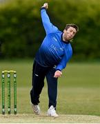 1 May 2021; Peter Chase of Leinster Lightning during the Inter-Provincial Cup 2021 match between Leinster Lightning and North West Warriors at Pembroke Cricket Club in Dublin. Photo by Brendan Moran/Sportsfile