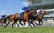 1 May 2021; Poetic Flare, with Kevin Manning up, leads Master Of The Seas, with William Buick up, who finished second, on their way to winning the Qipco 2000 Guineas Stakes at Newmarket Racecourse in Newmarket, England. Hugh Routledge /Sportsfile