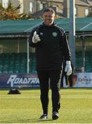 30 April 2021; Bray Wanderers goalkeeping coach Ian Fowler before the SSE Airtricity League First Division match between Bray Wanderers and Cork City at Carlisle Grounds in Bray, Wicklow. Photo by Matt Browne/Sportsfile
