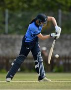 2 May 2021; Rebecca Stokell of Typhoons during the Arachas Super 50 Cup 2021 match between Typhoons and Scorchers at Pembroke Cricket Club in Dublin. Photo by Seb Daly/Sportsfile