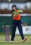 2 May 2021; Shauna Kavanagh of Scorchers during the Arachas Super 50 Cup 2021 match between Typhoons and Scorchers at Pembroke Cricket Club in Dublin. Photo by Seb Daly/Sportsfile