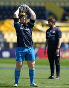 2 May 2021; James Tracy of Leinster warms up before the Heineken Champions Cup semi-final match between La Rochelle and Leinster at Stade Marcel Deflandre in La Rochelle, France. Photo by Julien Poupart/Sportsfile