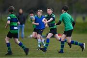 2 May 2021; Action during Seapoint Minis rugby training at Seapoint RFC in Dublin. Photo by Ramsey Cardy/Sportsfile