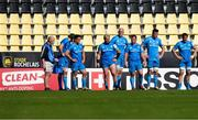 2 May 2021; Leinster players after La Rochelle scored a try during the Heineken Champions Cup semi-final match between La Rochelle and Leinster at Stade Marcel Deflandre in La Rochelle, France. Photo by Julien Poupart/Sportsfile