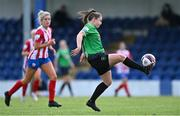 2 May 2021; Eleanor Ryan-Doyle of Peamount United during the SSE Airtricity Women's National League match between Treaty United and Peamount United at Jackman Park in Limerick. Photo by Piaras Ó Mídheach/Sportsfile