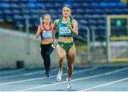 2 May 2021; Sophie Becker of Ireland on her way to finish second in the 4x200 metre final during the IAAF World Athletics Relays at the Merchant Slaski Stadium in Chorzow, Poland. Photo by Radoslaw Jozwiak/Sportsfile