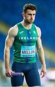 2 May 2021; Andrew Mellon of Ireland before competing in the mixed 4x400 metre final during the IAAF World Athletics Relays at the Merchant Slaski Stadium in Chorzow, Poland. Photo by Radoslaw Jozwiak/Sportsfile