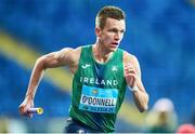 2 May 2021; Chris O'Donnell of Ireland competing in the mixed 4x400 metre final during the IAAF World Athletics Relays at the Merchant Slaski Stadium in Chorzow, Poland. Photo by Radoslaw Jozwiak/Sportsfile